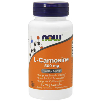 NOW L-Carnosine 500 mg, 50 Capsules