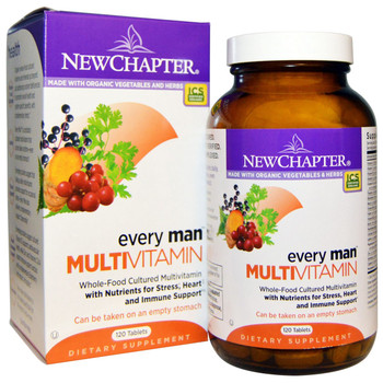 New Chapter Every Man's Multivitamin 120 Tablets