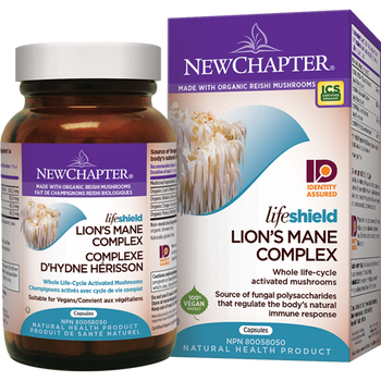 New Chapter Lifeshield Lion's Mane Complex, 72 Capsules