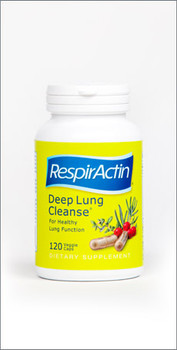 RespirActin Deep Lung Cleanse, 60 Veg Capsules
