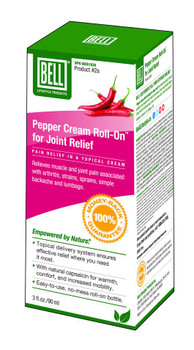 BELL Pepper Cream Roll-On Joint Relief, 90 ml