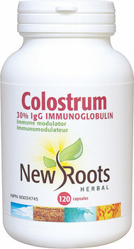 New Roots Colostrum, 120 Veg Capsules