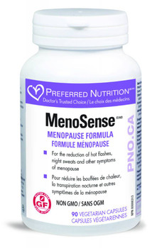 Preferred Nutrition MenoSense, 90 Veg Capsules