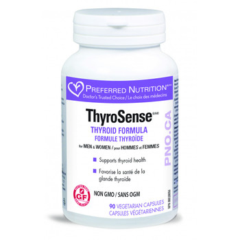 Preferred Nutrition ThyroSense, 90 Veg Capsules