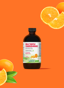 Land Art Milk Thistle (Orange Bark Flavour) 250 ml