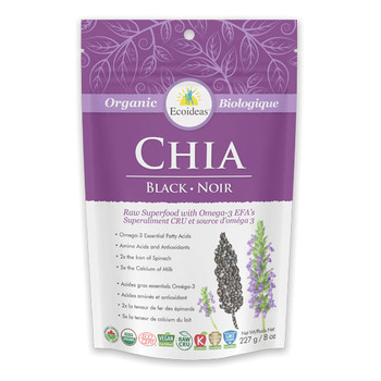 Eco Ideas Black Chia, 227 g