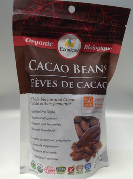 Ecoideas Cacao Beans Small, 227 g