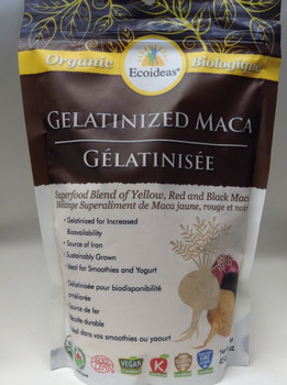 Ecoideas Gelatinized Maca Large, 454 g