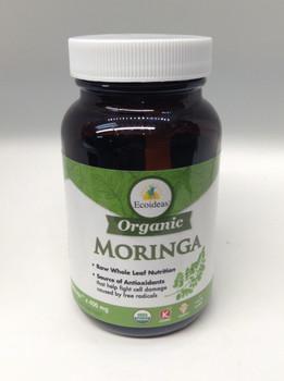 Ecoideas Org Moringa  400 mg, 60 Caps