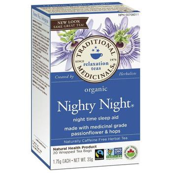 Traditions Medicina Organic Nighty Night Tea, 35 mg