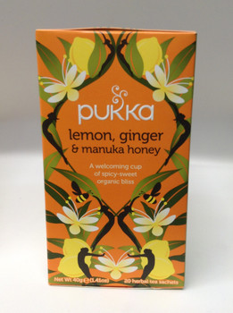 Flora Teas Organic Lemon Ginger Echinacea, 35.2 mg