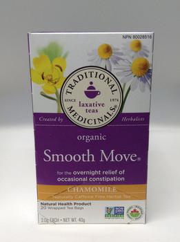 Traditional Medicina Trad Tea Smooth Move Chamomile, 40 mg