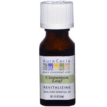 Aura Cacia Cinnamon Leaf Oil, 15 ml
