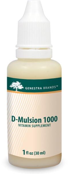 Genestra Brands D-Mulsion, 30 ml