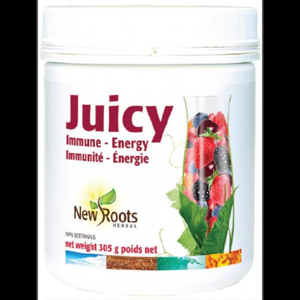 New Roots Juicy Immune-Energy, 305g powder