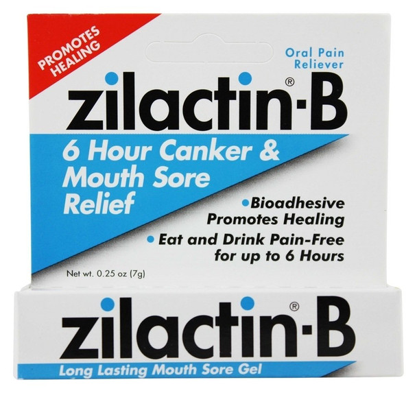 Zilactin-B Oral Pain Reliever