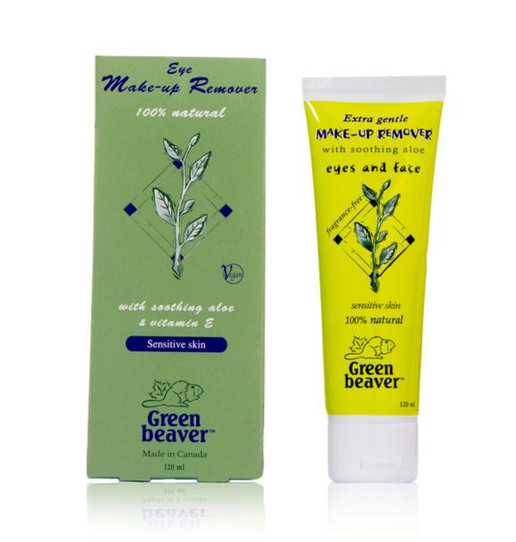 GREEN BEAVER 100% NATURAL EYE MAKEUP REMOVER FOR SENSITIVE SKIN