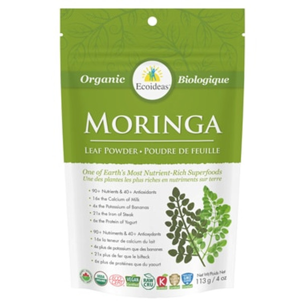 Ecoideas Moringa Powder Small, 113 g