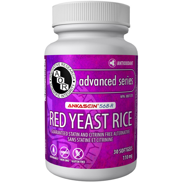 Aor Red Yeast Rice, 110 mg