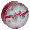 Silver Bells Cookie Tin Container