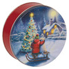 Spirit of Christmas Cookie Tin Container