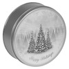Winter Breeze Cookie Tin Container