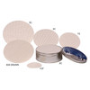 Round Tin Container Candy Pads Grp