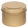 """2 1/16"""" X 1 3/8"""" Seamless Tin in Color Gold"""