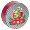 Shimmering Candlelight Tin Design