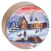 Holiday Treat Design Tin Container