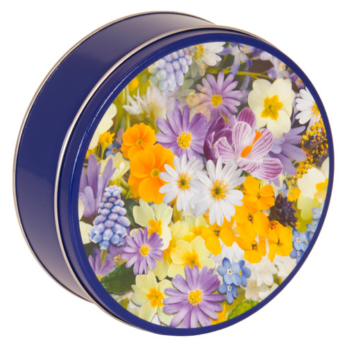 Spring Meadow Cookie Tin Container
