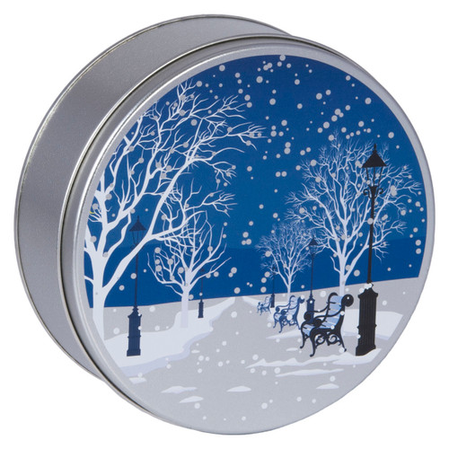 Evening in the Park Cookie Tin Container