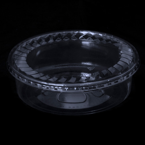 "7"" Clear Plastic Tubs"