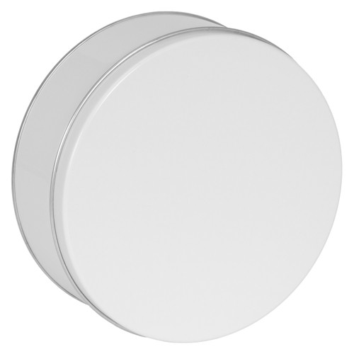 White Cookie Tin Container