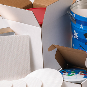 Tin Container Packaging Materials