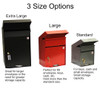 3 Size Options for Secure Payment Drop Box