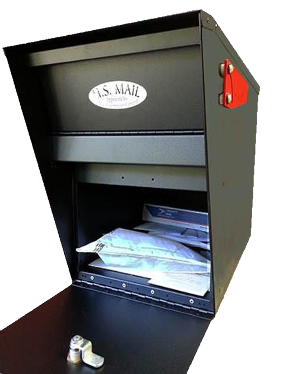 Secure Mail Vault Locking Mailbox With Combination And