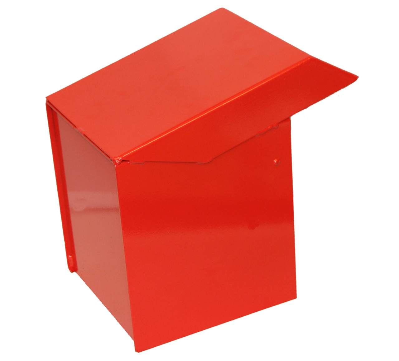 Side view Outdoor Secure Payment Locking Drop Box