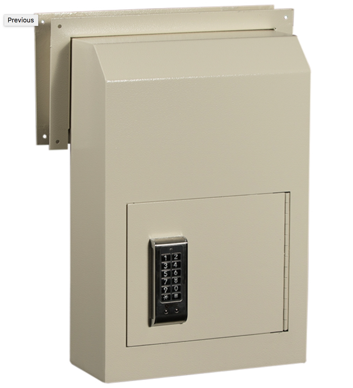 Shown with optional electronic lock