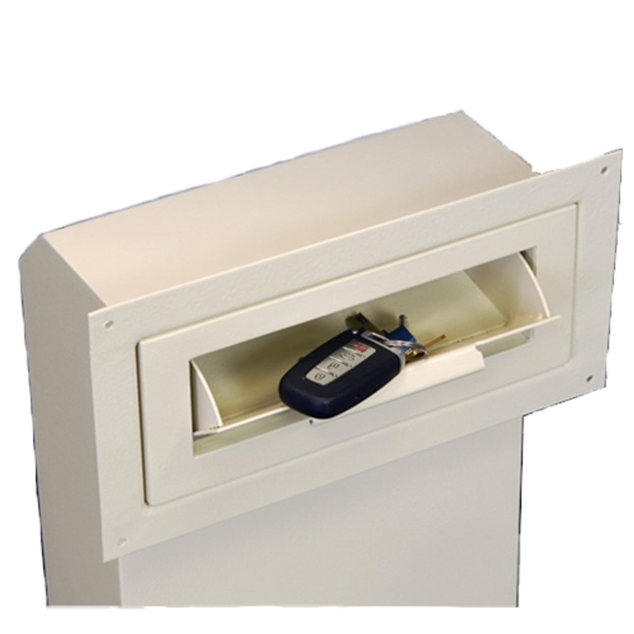 Through The Door Drop Slot With Receptacle Locking