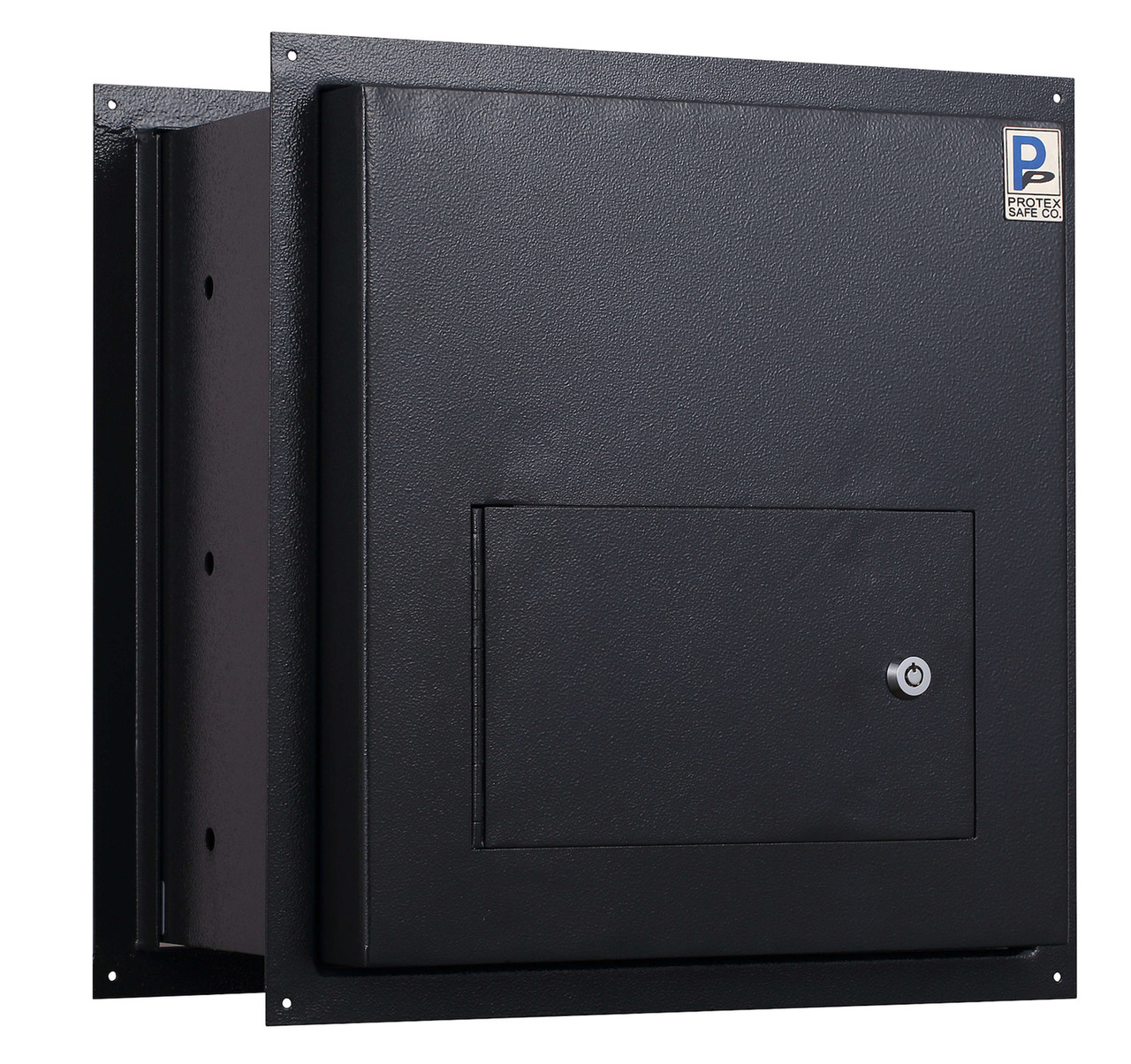 Through the Wall Drop Box black