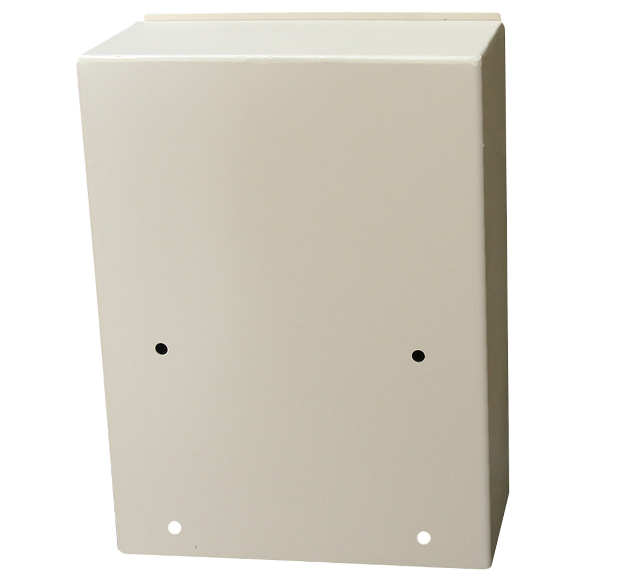 High Security Wall Mounted Payment Drop Box Mounting Holes