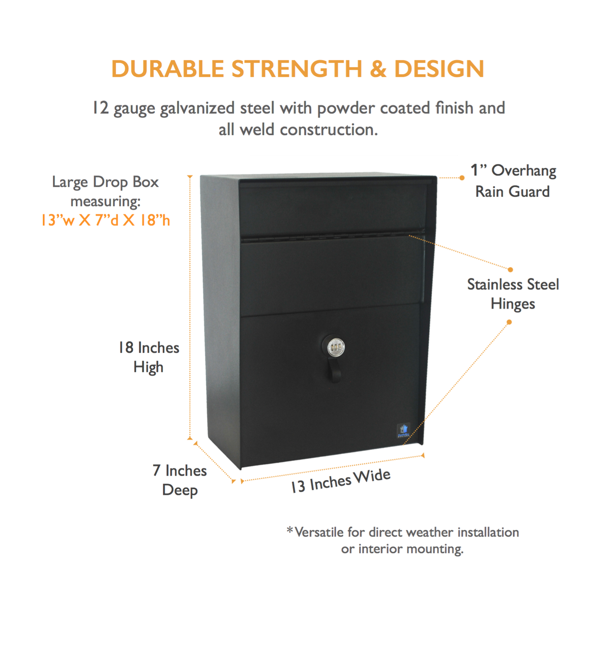 Drop Box Durable Strength & Design