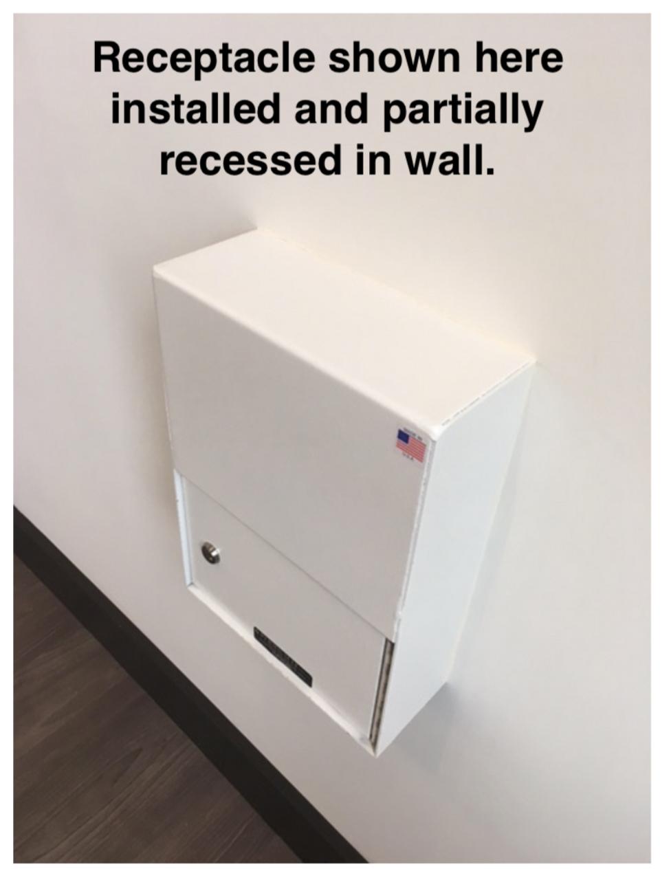 Custom High Security Through The Wall Deposit Drop Box