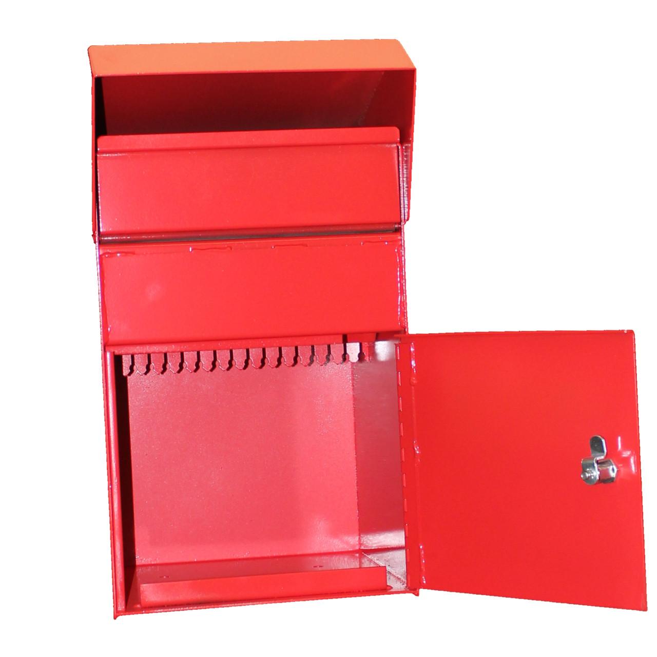 Extra Large Outdoor Secure Payment Drop Box door open