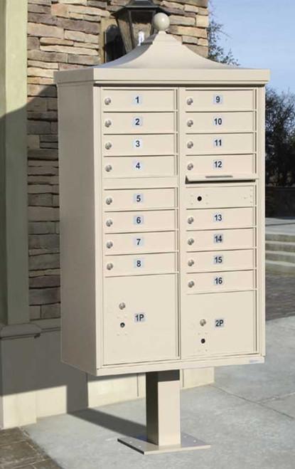 Regency 16 unit Cluster Mailbox