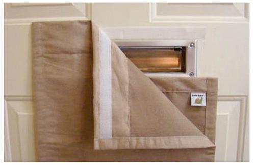 Door Mail Slot Collection Bag