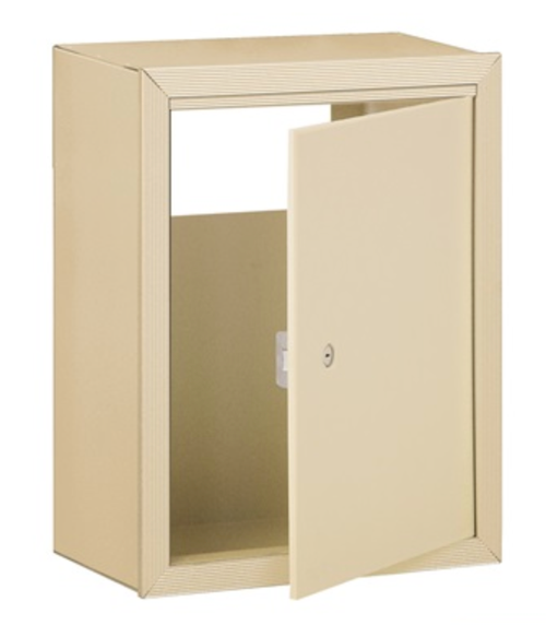 RECEPTACLE FOR WALL MAIL DROP SLOT S2256