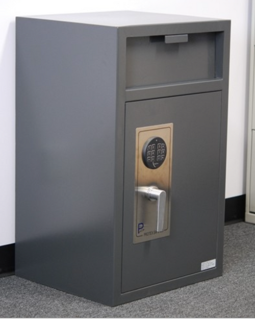 Front Loading Depository Safe for Money Bags