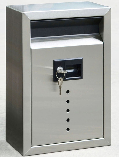 Stainless Steel Wall Drop Box